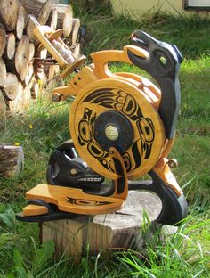 raven and wolfl1 - Olympic Spinning Wheels. I just love these wheels.