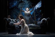 Ekaterina Siurina as Pamina and Albina Shagimuratova as Queen of the Night in The Royal Opera's Die Zauberflöte © ROH / Mike Hoban 2013