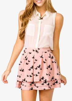 LOVE this fresh summer look #fashion