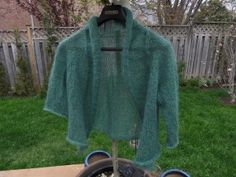 I Love My Amiga once again..this time knit with KidLin Lace Weight from Louet. A Mohair and Linen Blend that I love.