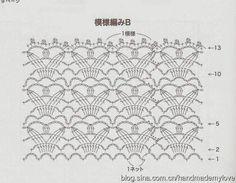 Patrón #511: Vestido de niña a Crochet ~ CTejidas [Crochet y Dos Agujas]