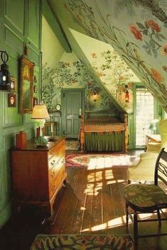 Small English Cottage, Photo Wall Decor, Fairytale Cottage, Cottage In The Woods, Room Ideas Bedroom, Bedroom Inspo, Bedroom Inspiration, Bedroom Decor, Photo Displays