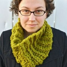 chunky cowl...make it in less than 2 hours!.