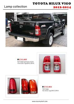 China Hilux Vigo 2012 Tail Lamp, Find details about China Hilux Vigo 2012 Tail Lamp, Hilux Vigo Accessories from Hilux Vigo 2012 Tail Lamp - Esunny Co. Showroom, 4x4 Accessories, Toyota Hilux, Bangkok Thailand, Alloy Wheel, China, This Or That Questions, Cars, Autos