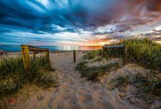 Through the dunes to Brighton Beach SouthAustralia.  By Ben Heide Photography