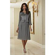 Georgette Jacket Dress