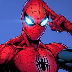 Spiderman Drawing, Spiderman Art, Amazing Spiderman, Marvel Art, Marvel Heroes, Marvel Characters, Ms Marvel, Captain Marvel, Spider Men