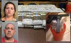 Miami Police arrested  a Brother & Sister  for drug trafficking with cash amounted to $24m during Home raid