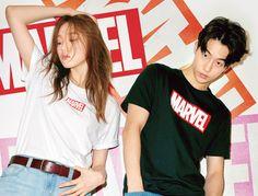 Swag Couples, Kpop Couples, Asian Actors, Korean Actors, Weightlifting Fairy Kim Bok Joo Swag, Nam Joo Hyuk Lee Sung Kyung, Joon Hyung, Nam Joohyuk, Korean Babies