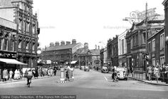 Burnley, St James Street from Francis Frith Burnley, Saint James, Saints, Street View, Life