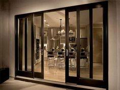 Anderson Sliding Glass Doors Screen Black Furniture