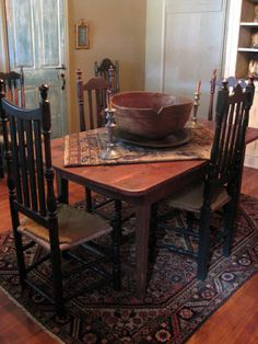 Pinsherie Smith On A Simple Life  Pinterest  Primitives Impressive Primitive Dining Room Sets Inspiration