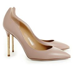 Nude Studded Pump | Shoes | The Editorialist