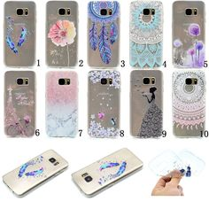 New Slim Clear Soft Silicone TPU Rubber Gel Back Case Cover For Samsung Galaxy #UnbrandedGeneric