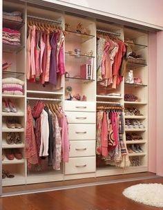 Ideas clothes closet organization diy the doors Bedroom Closet Storage, Small Closet Organization, Master Bedroom Closet, Closet Shelves, Bedroom Wardrobe, Diy Wardrobe, Bedroom Organization, Organization Ideas, Diy Bedroom