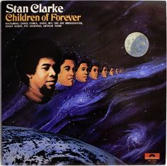 STAN CLARK / CHIC COREA / CHILDREN OF FOREVER / JAZZ FUNK /  POLYDOR JAPAN