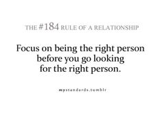 this is true | rule of a relationship