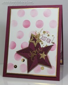Be the Star - Stampin' Up! - Stamp With Amy K