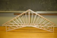 cable stayed toothpick bridge - Google Search