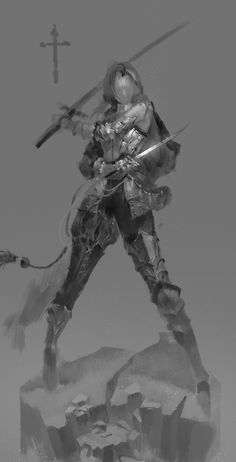 Knight Art, Fantasy Characters, Comic Art, Character Design, Character Art, Art Reference Poses, Art Drawings, Fantasy Art, Art Poses