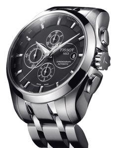 Tissot | Couturier Chronograph Automatic | Edelstahl | Uhren-Datenbank watchtime.net