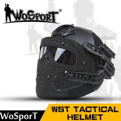Wosport nueva táctica casco bj pj mh abs máscara con gafas de motocicleta ciclismo caza militar airsoft paintball juego de guerra del ejército en Cascos de Deportes y Entretenimiento en AliExpress.com | Alibaba Group