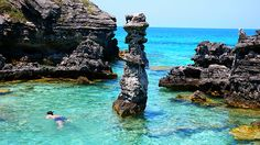 Snorkeling at Tobacco Bay Bermuda....great times :)