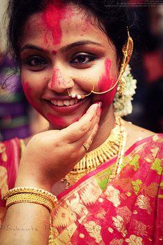 vermillion in india - Yamini Kumar Cohen Photo Mariage