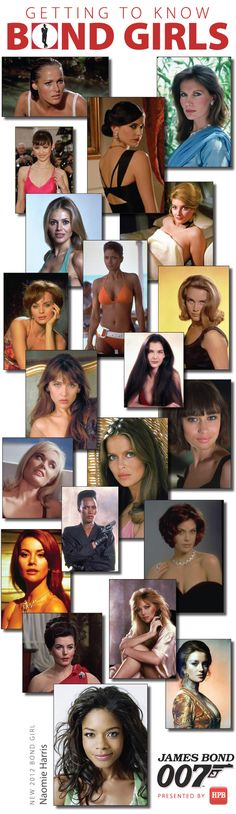 Anticipating Skyfall: 8 Things You May Not Have Known about Bond Girls// blog.hpb.com, @halfpricebooks