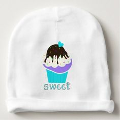 #A Cup Full of Sweetness Baby Beanie - #cute #baby #beanies #lovely #babies
