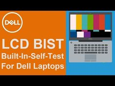 #Dell Laptops have a LCD BIST (built-in-self-test) to check the LCD when the screen starts acting strangely. This test helps determine if the issue is with the LCD screen itself and not with the video card or the PC settings.   NOTE: To enter the LCD BIST mode, you must have your laptop turned off and do not have anything connected to it.