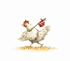 Bernadette B- Dody - Brahma Chickens Chicken Drawing, Chicken Painting, Chicken Art, Chicken Houses, Cartoon Chicken, Chickens And Roosters, Happy Paintings, Galo, Detailed Drawings