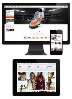 Nike.com - Hoshi Ludwig - Direction and Design