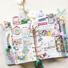 My view Sharing a lil and in my for the… Cute Planner, Happy Planner, Digital Bullet Journal, Cute School Supplies, Day Planners, Personal Planners, Kikki K, Planner Organization, Planner Stickers