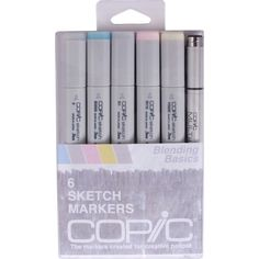 copic markers | Copic-Markers-Blending-Basics-Sketch-Marker-and-Multi-Liner-Pen-Pack ...