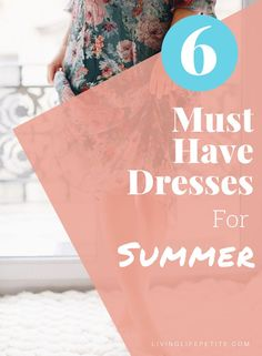 Looking to add some cute new dresses to your closet for the season? On the blog I am sharing 6 perfect casual summer dresses you need to add to your closet. #summerdresses #springdresses #petitestyle #dressstyle Petite Spring Dresses, Dress For Petite Women, Fashion For Petite Women, Petite Outfits, Casual Summer Dresses, Short Person, Summer Looks, Blogging, Group