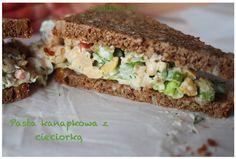 Pasta kanapkowa z ciecierzycy, idealne składniki, które mają zdrowotne…