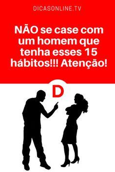 Relacionamento abusivo   NÃO se case com um homem que tenha esses 15 hábitos!!! Atenção!