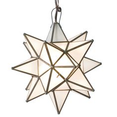 ZD Trends   Pendant Lighting: Pendant lighting was a huge trend at this year's High Point market, specifically in clusters:  Worlds Away Star Frosted Glass Small Chandelier @Zinc Door #zincdoor #lighting