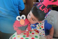 Dylan's 2nd Birthday Elmo Style | CatchMyParty.com