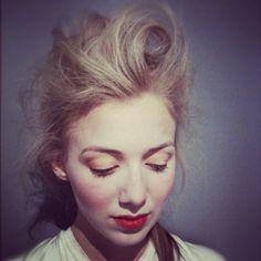 stage makeup -theatremajorprobs. on Pinterest   20s Makeup ...