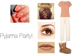 """Pyjama Party"" by indiwa ❤ liked on Polyvore"
