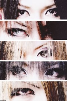 eyes of The GazettE member >///