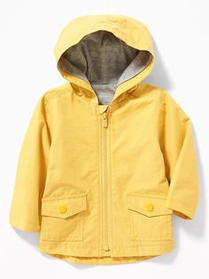 Get him feeling warm and cuddly in baby boy outerwear from Old Navy. Shop infant boy outerwear for cute picks for cold weather. Green Raincoat, Black Rain Jacket, Rain Jacket Women, Boys Summer Outfits, Baby Boy Outfits, Summer Clothes, Baby Boy Jackets, Baby Boy Coats, Summer Clothing