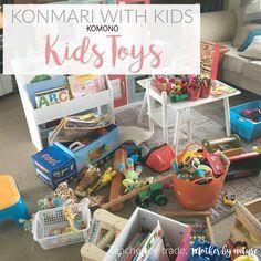 New Series: KONMARI WITH KIDS - working my way through my kids belongings using the KonMari Method - Clothes, Books, Paper, Komono (Miscellaneous) and Sentimental.
