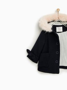 Image 3 of HOODED DUFFEL COAT from Zara Duffle Coat 4a76548d04316