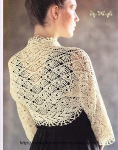 Irish crochet &: Шраг