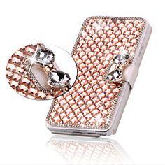 luxus bling kristály gyémánt bőr Flip táska fedelét Samsung Galaxy S3 / S4 / S5 / S6 / S6 él / S6 szélén plusz