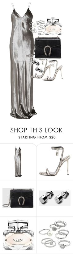 """""""Untitled #20436"""" by florencia95 ❤ liked on Polyvore featuring T By Alexander Wang, Tom Ford, Gucci and Candie's"""