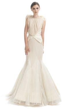 Zac Posen Angel Evening Gown
